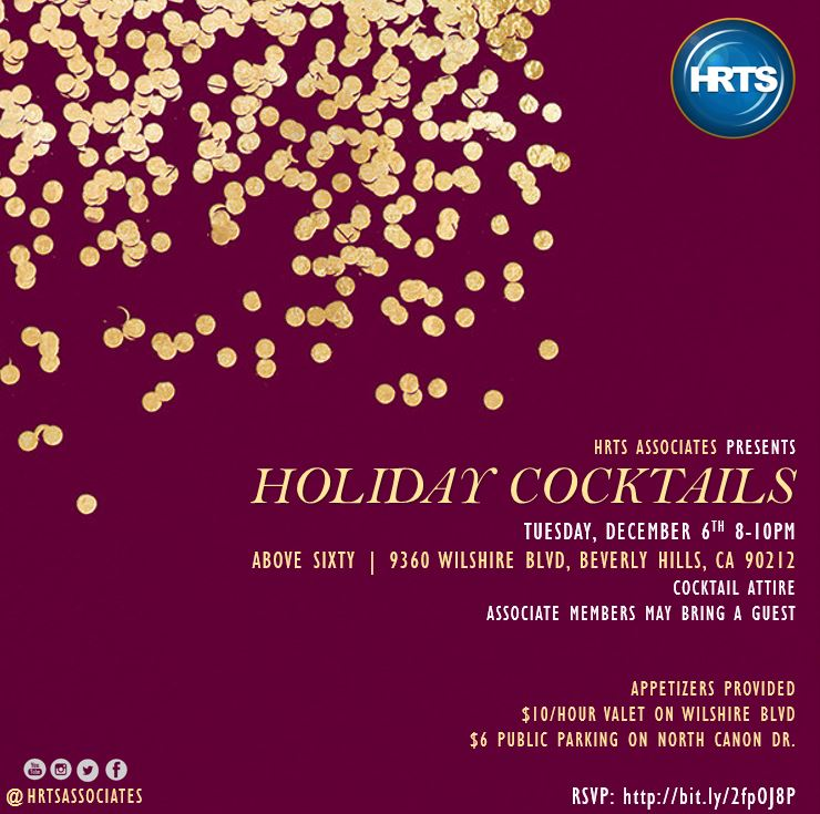 HRTS Associates Presents Holiday Cocktails