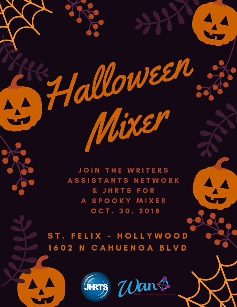 La Fete Halloween.Jhrts La Presents Halloween Mixer